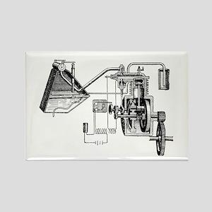 Gil Warzecha - Rectangle Magnet