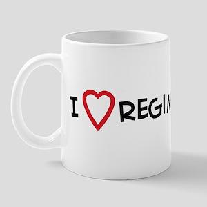 I Love Regime Change Mug