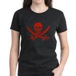 Pirates Red Women's Dark T-Shirt