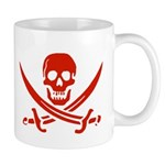 Pirates Red Mug
