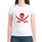 Pirates Red Jr. Ringer T-Shirt