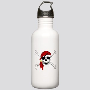 Pirate Skull Stainless Water Bottle 1.0L