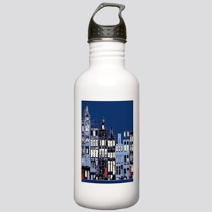 Amsterdam at Night Stainless Water Bottle 1.0L