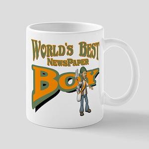 Newspaper Boy Mug