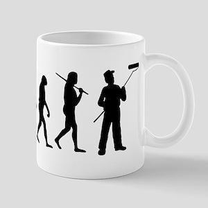 The Evolution Of The Painter Mug