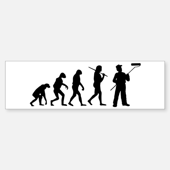 The Evolution Of The Painter Sticker (Bumper)