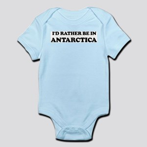 Rather be in Antarctica Infant Creeper