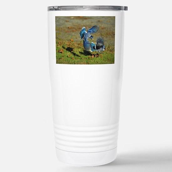 2 Blue Jays Stainless Steel Travel Mug