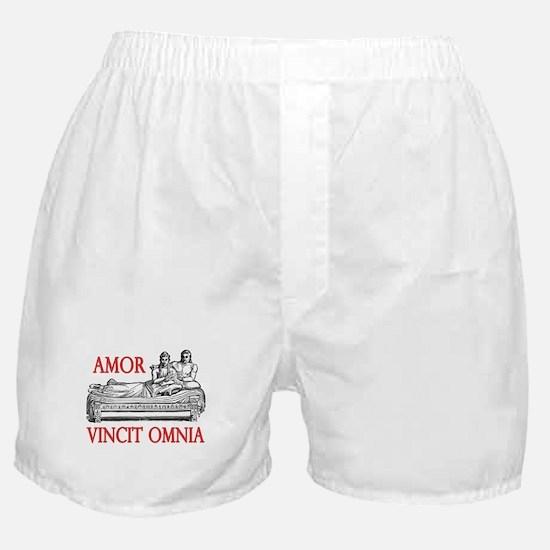 Amor Vincit Omnia Boxer Shorts