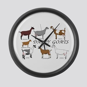 ALL Dairy Does Large Wall Clock