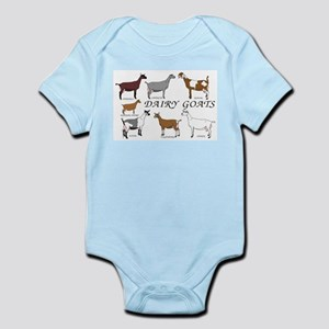 4be631f074f Dairy Goat Baby Clothes   Accessories - CafePress