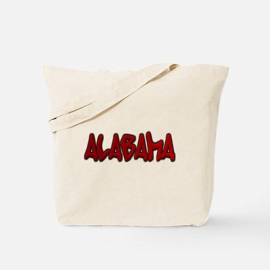 Alabama Graffiti Tote Bag