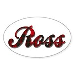 Clan Ross Sticker (Oval)