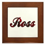 Clan Ross Framed Tile