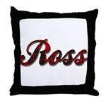 Clan Ross Throw Pillow