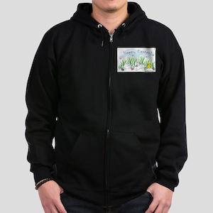 westie Zip Hoodie (dark)