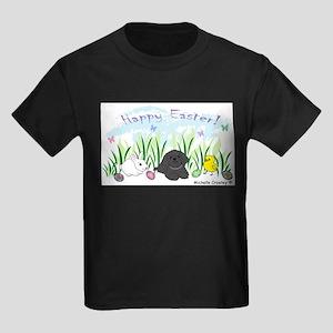 shih tzu Kids Dark T-Shirt