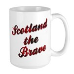 Scotland the Brave Large Mug