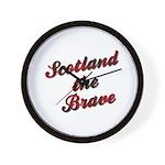 Scotland the Brave Wall Clock