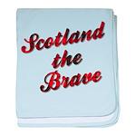 Scotland the Brave baby blanket