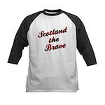 Scotland the Brave Kids Baseball Jersey
