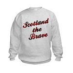 Scotland the Brave Kids Sweatshirt