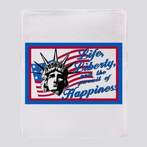 Pursuit of Happiness Throw Blanket