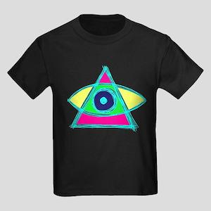 Illuminati Scirbble Kids Dark T-Shirt