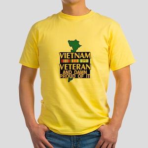 VIETNAM PROUD OF IT Yellow T-Shirt