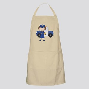 Female Police Officer Apron