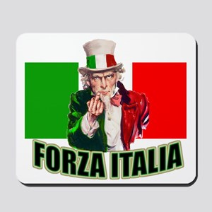Uncle Sam goes to Italy Mousepad