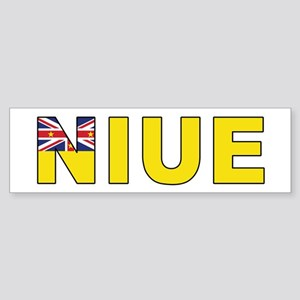 Niue Sticker (Bumper)