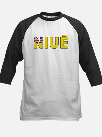 Nieu (Niuean) Kids Baseball Jersey