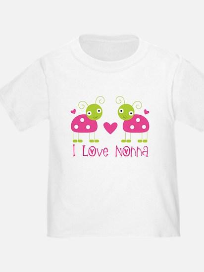 I Love Nonna Ladybug T