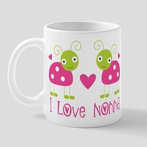I Love Nonna Ladybug Mug