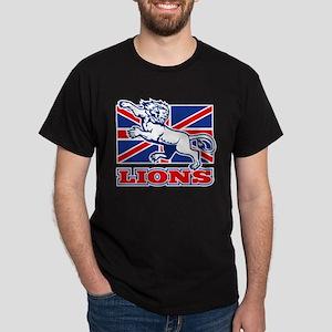 British Lions Rugby Dark T-Shirt