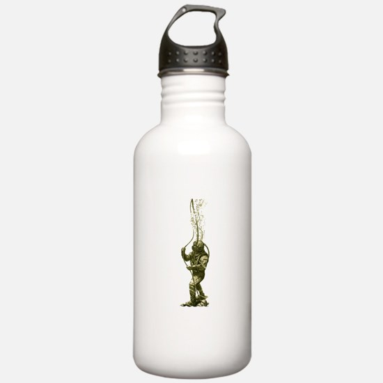 On The Bottom Water Bottle