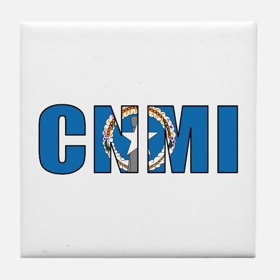 CNMI Tile Coaster