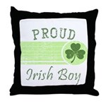 Proud Irish Boy Throw Pillow