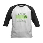 Proud Irish Boy Kids Baseball Jersey