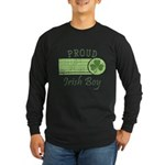 Proud Irish Boy Long Sleeve Dark T-Shirt