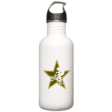 BMX Star Stainless Water Bottle 1.0L