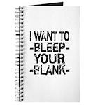 Bleep your Blank Journal