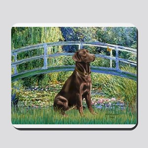 Bridge / Labrador (Choc) Mousepad