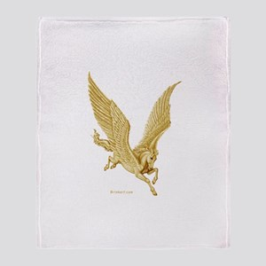 Pegasus in Flight ~ Throw Blanket
