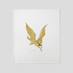 Pegasus in Flight ~ Throw Blanket