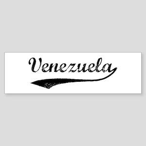 Vintage Venezuela Bumper Sticker