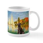 Regatta / Choc. Labrador Mug