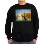 Regatta / Choc. Labrador Sweatshirt (dark)