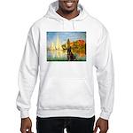 Regatta / Choc. Labrador Hooded Sweatshirt
